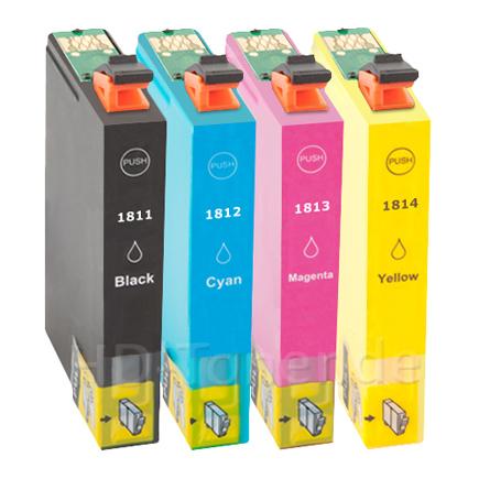 EPSON T1806 / T1816 (č.18XL) Multipack - kompatibilní
